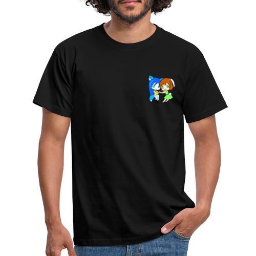 chibi ariel and choko - Herre-T-shirt