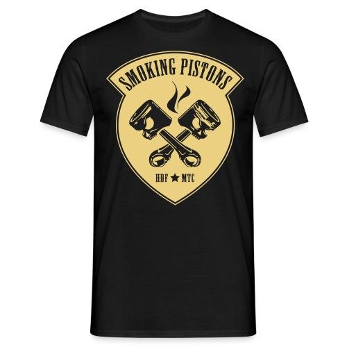 Smoking Pistons 1 - Mannen T-shirt