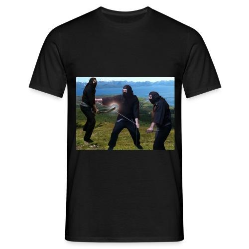 Chasvag com ninja - T-skjorte for menn