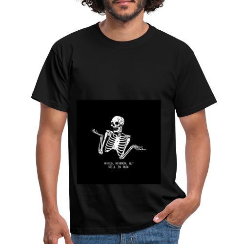 Tumblr skeleton - Männer T-Shirt