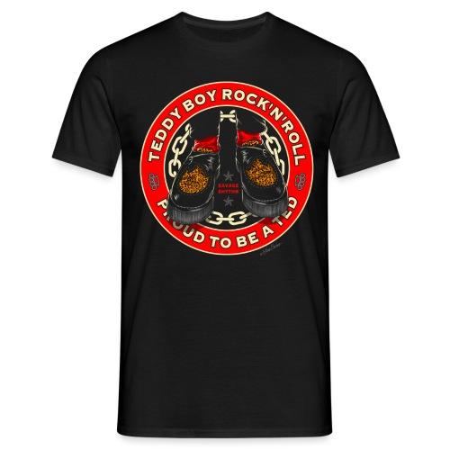 teddy boy crrepers unido - Camiseta hombre