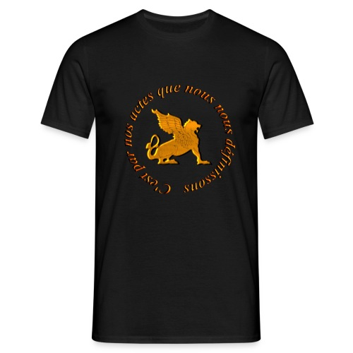 Slogan Escouade Griffons - T-shirt Homme