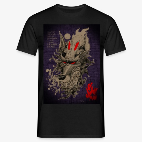 WOLF SKULL - T-shirt Homme