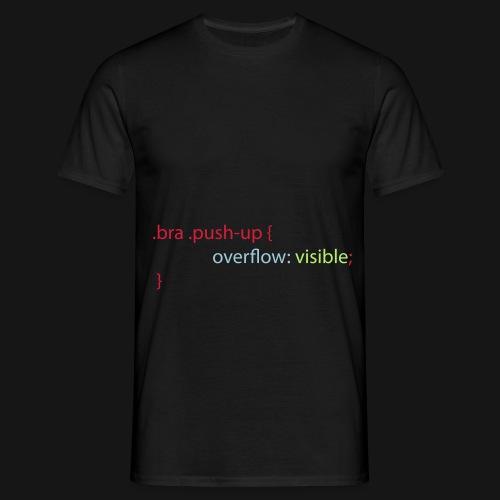 Css Humor Bra - Männer T-Shirt