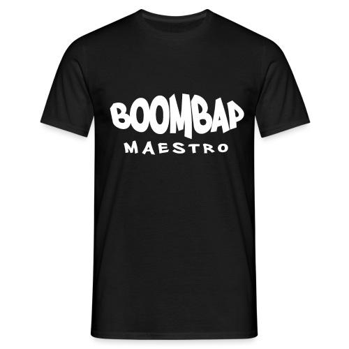 BoomBap Maestro White - Men's T-Shirt