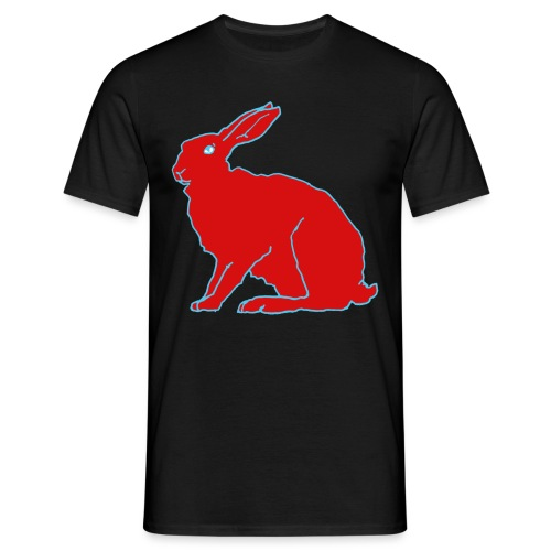 Roter Hase - Männer T-Shirt