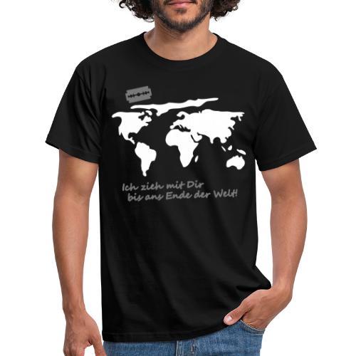 Ich zieh mit Dir bis ans Ende der Welt Pepp Speed - Männer T-Shirt