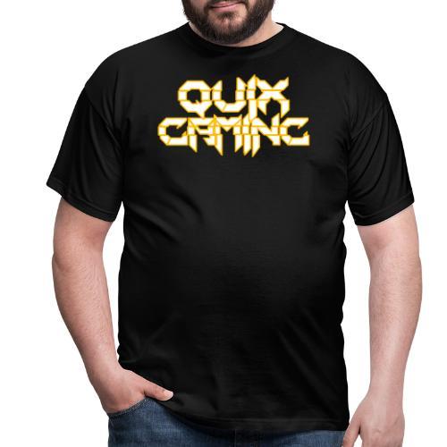 QuixGaming Simple Design - Herre-T-shirt