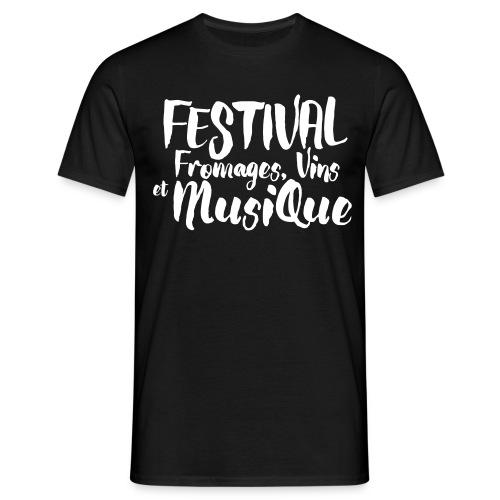 Festival Fromages, Vins et Musique - T-shirt Homme