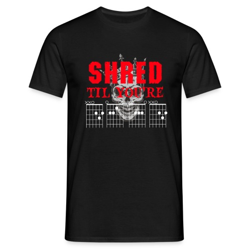 Shred til Dead Chords - T-shirt herr