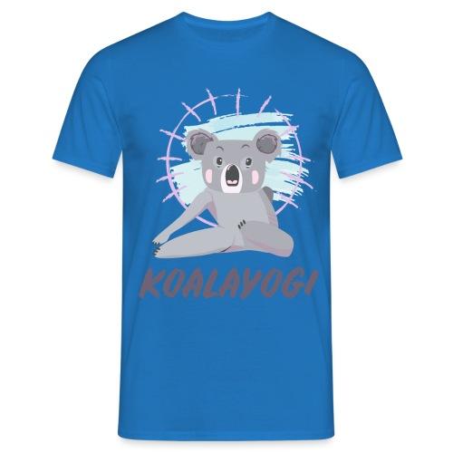 Koalayogi - T-skjorte for menn