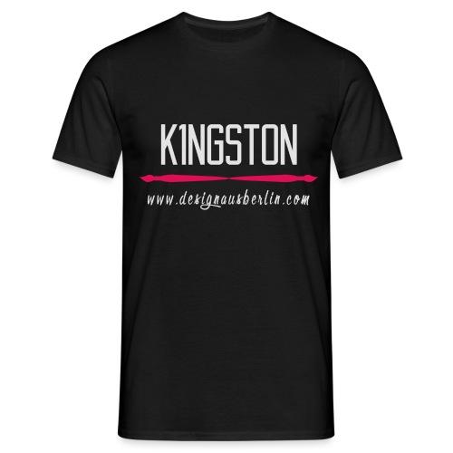 k1ngston-designausberlin2 - Männer T-Shirt