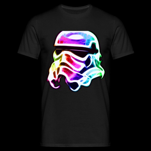 Rainbow Stormtrooper - Men's T-Shirt