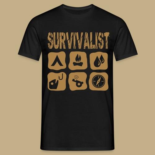 Survivalist - Männer T-Shirt