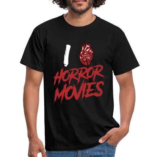I Love Horror Movies - Männer T-Shirt