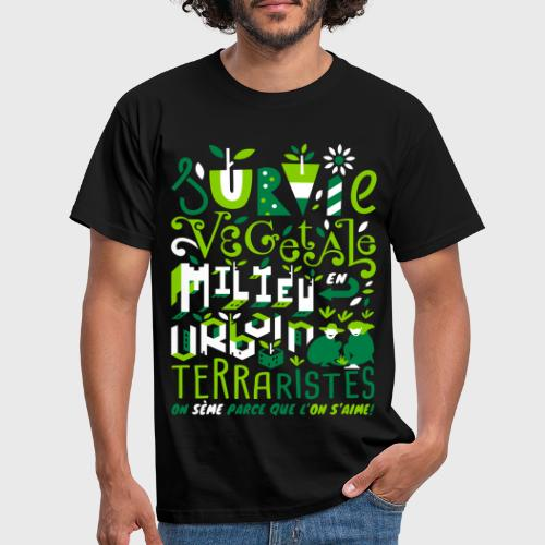 Green Guerilla - T-shirt Homme