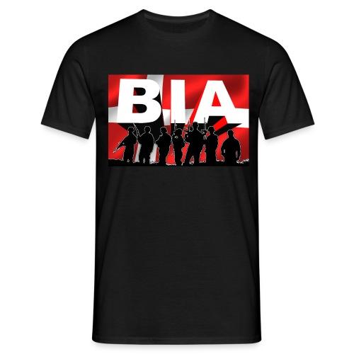 BIA+DKflag - Herre-T-shirt