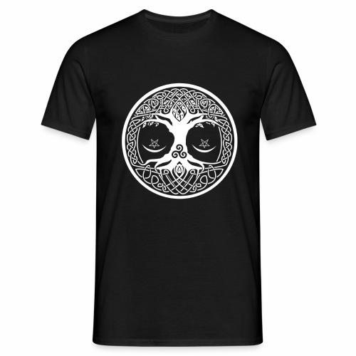 celtic tree - Camiseta hombre