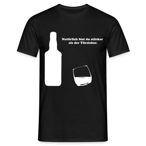 whiskey - Männer T-Shirt