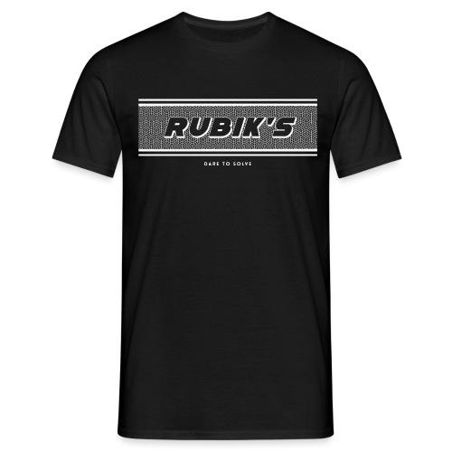 Rubik's Cube Vintage Logo - Men's T-Shirt