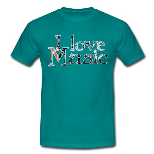 I love Music - Männer T-Shirt