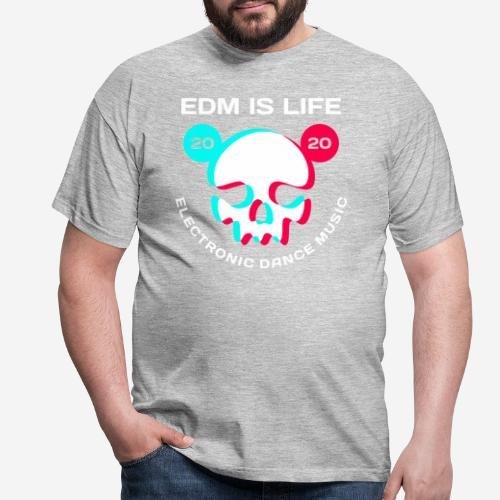 edm electronic dance music - Männer T-Shirt