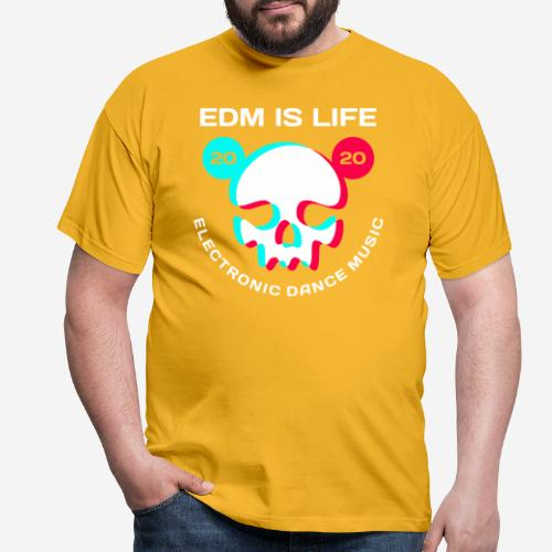 edm electronic dance music - Männer T-Shirt