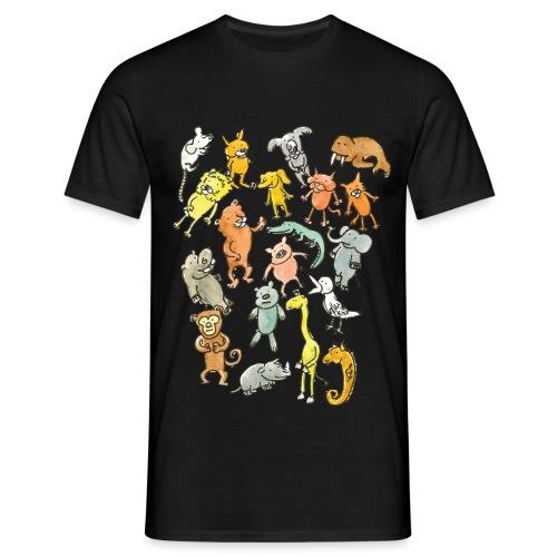 Farandole d'animaux - T-shirt Homme