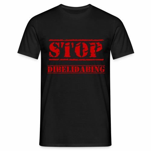 STOP Dibelidabing (bordeaux) - T-shirt Homme