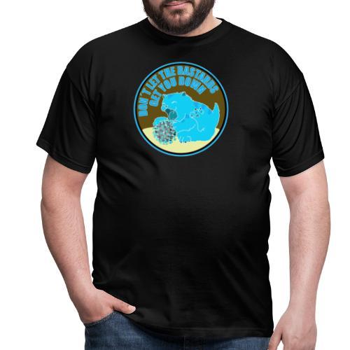 Cat vs. Virus - Männer T-Shirt