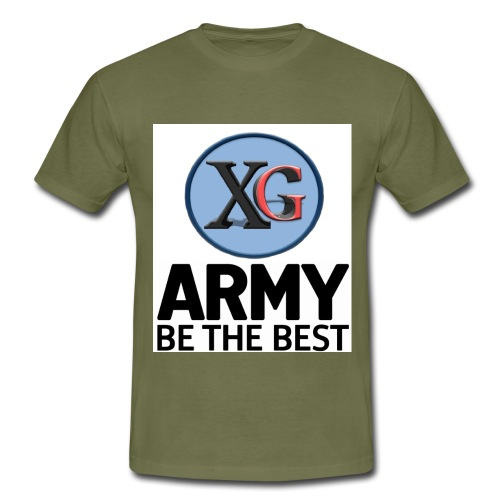 xg-logo-army - Men's T-Shirt