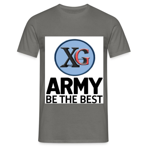 xg-logo-army - Men's T-Shirt