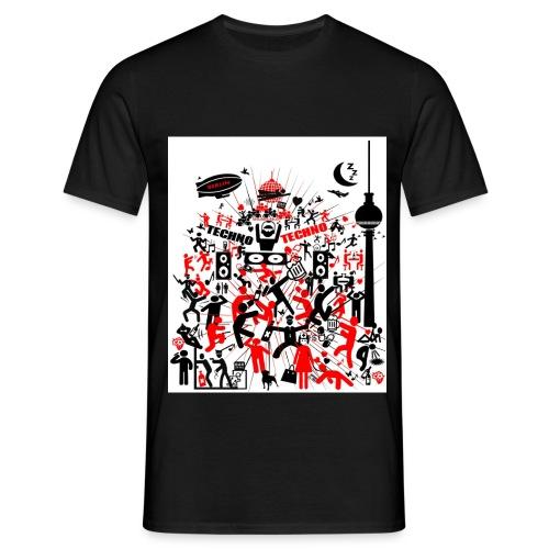 Techno Party Berlin - Männer T-Shirt