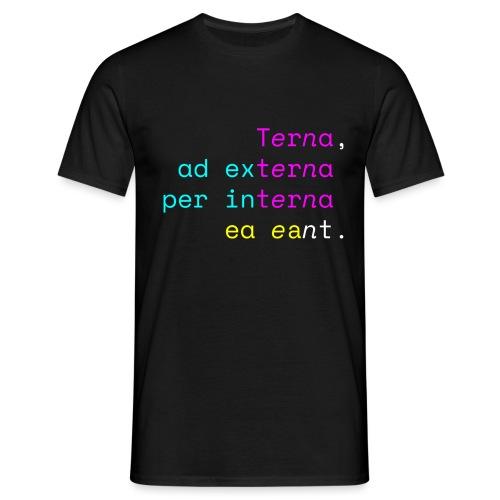 Terna Nigra - Maglietta da uomo