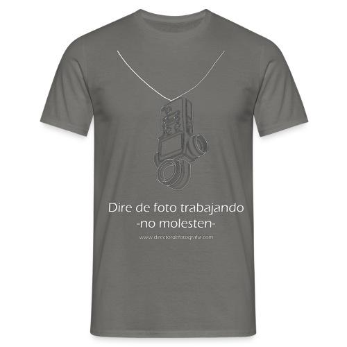 Dire de foto trabajando - Camiseta hombre