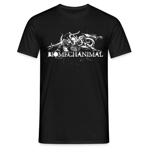 biomechanimalshirt png - Men's T-Shirt