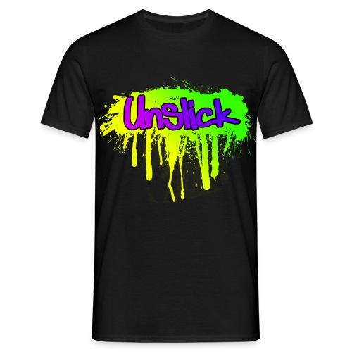 Unslick spread png - Männer T-Shirt