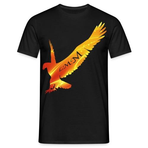 Aigle feu png - T-shirt Homme