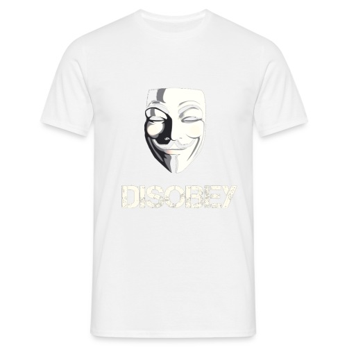Anonymous Disobey gif - Miesten t-paita