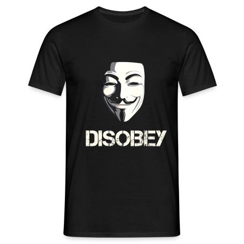 Anonymous Disobey gif - T-skjorte for menn