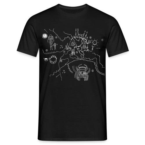 Map - T-shirt herr