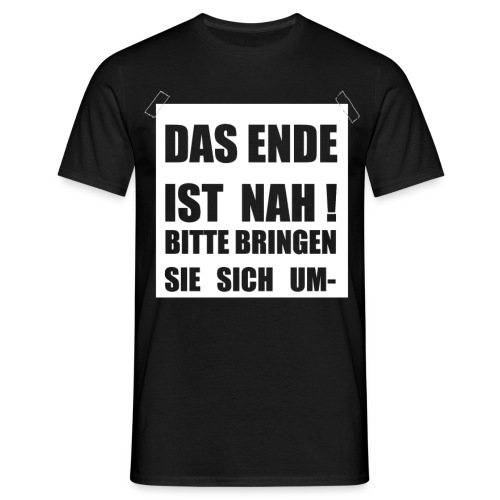 Endefront1 png - Männer T-Shirt