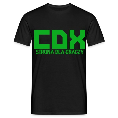 CDX-LOGO - Koszulka męska