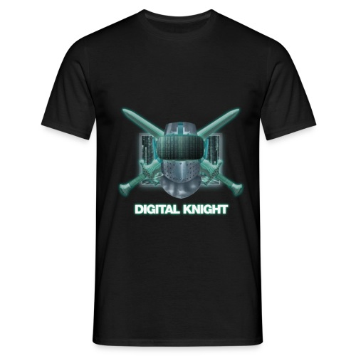 Digital Knight - Männer T-Shirt