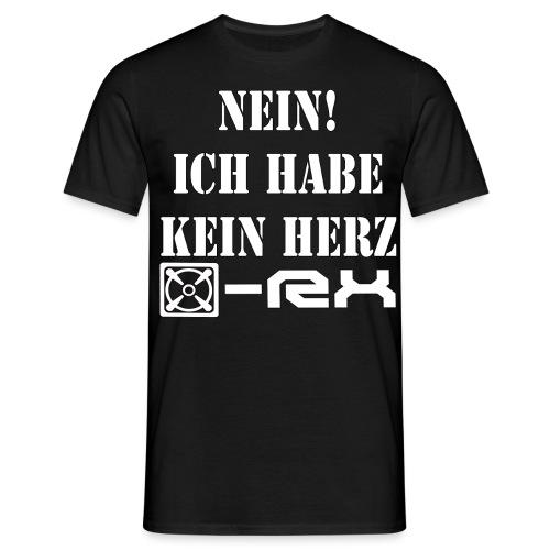kein herz Back Kopie png - Männer T-Shirt