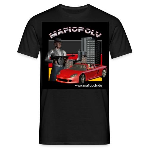 Shirt-Mafiopoly_black1 - Männer T-Shirt