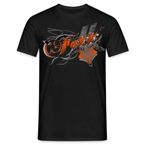 Grunge Orange Foxx - Men's T-Shirt