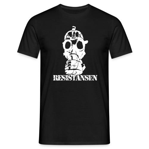 Resistansen logo 2 - T-skjorte for menn