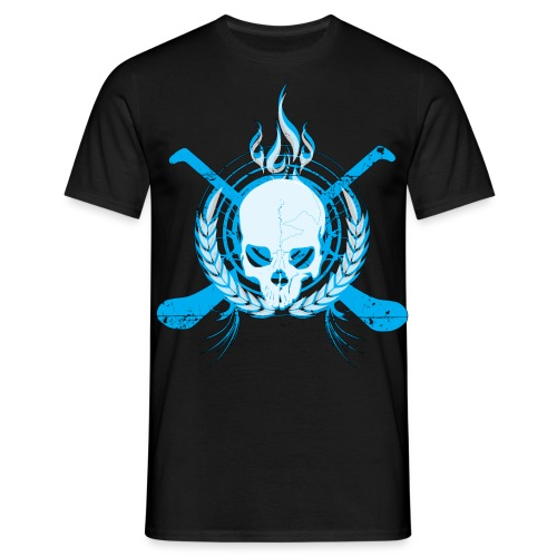 skullelectricblack - Men's T-Shirt