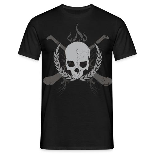 skullgreyblack - Men's T-Shirt